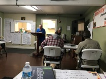 David Glanville teaching at Divinity Care