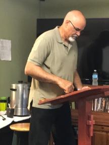 Alan Ballou teaching at Divinity Care 2018