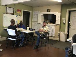 Pastor Tim Haynes teaching at Divinity Care