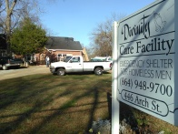 The view from the street at Divinity Care