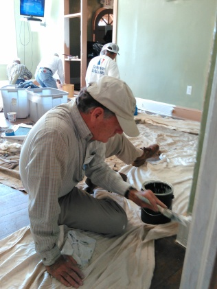 Painters at Divinity Care