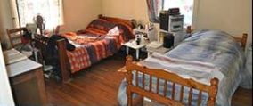 First bedroom at Divinity Care