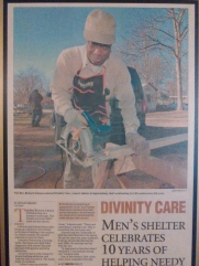 Rev Johnson founder of Divinity Care Facility