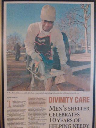 Rev Johnson founder of Divinity Care Facility